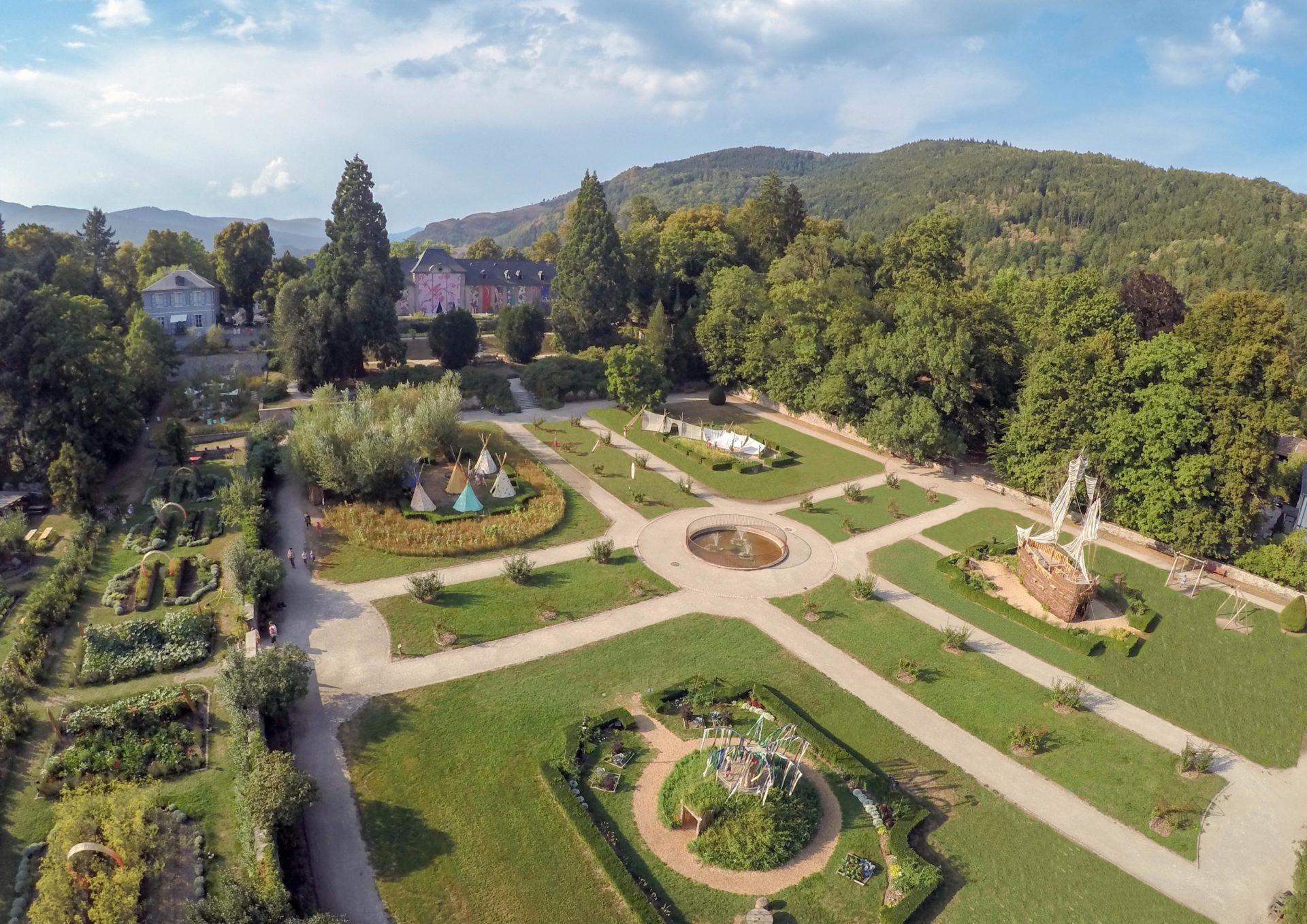 Jardins du Parc de Wesserling