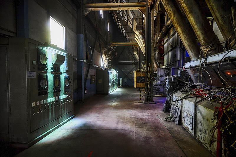 Parc de Wesserling - Alsace - Patrimoine industriel - Grande Chaufferie