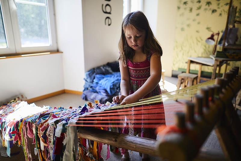 Parc de Wesserling - Alsace - Ecomusee Textile - Espace enfant