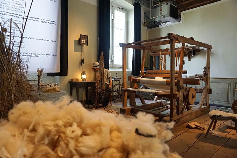 Parc de Wesserling - Alsace Ecomusee Textile tissage