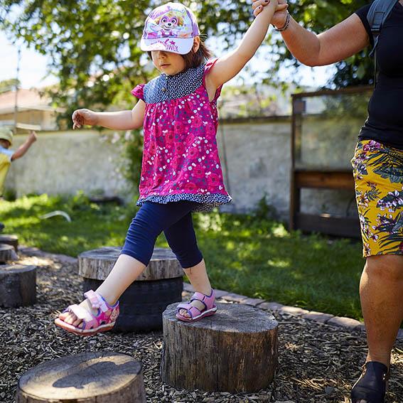 Parc de Wesserling - Alsace- Les Jardins - enfants