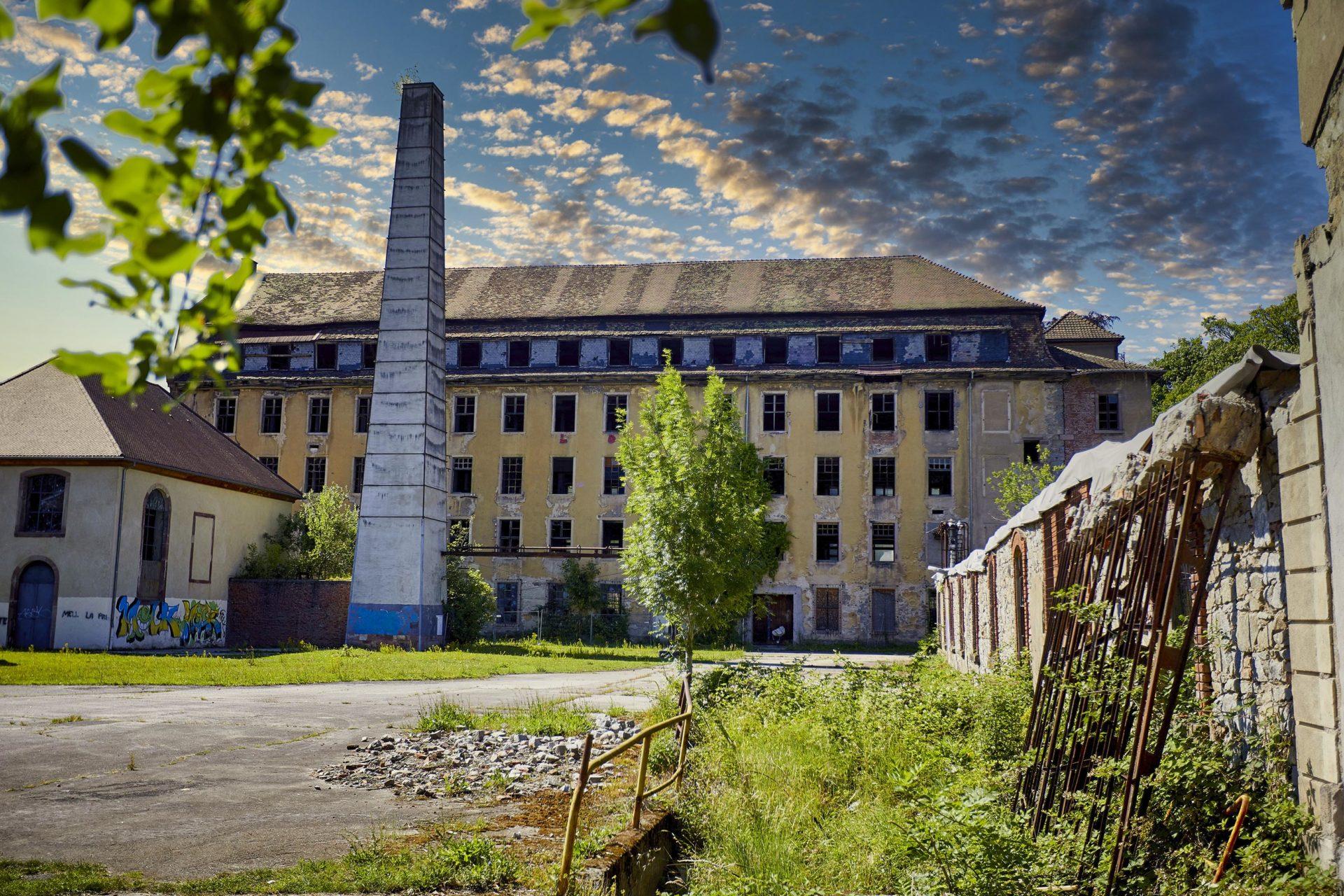 Parc de Wesserling Ecomusée Textile Alsace Patrimoine industriel